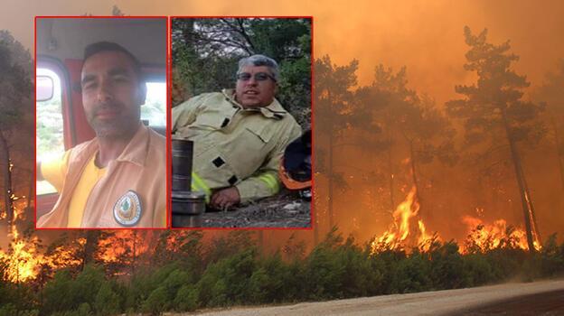Manavgat'taki orman yangınında hayatını kaybeden 2 işçiyle ilgili kahreden detay