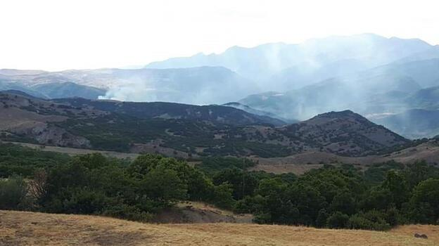 Tunceli Valiliği'nden helikopterden açılan ateşle orman yangını çıktığı iddialarına yalanlama