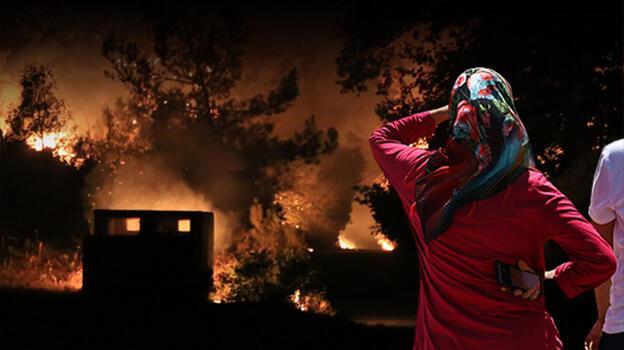 Son Dakika Haberleri: Alevler hızla ilerliyor! İşte son durum...
