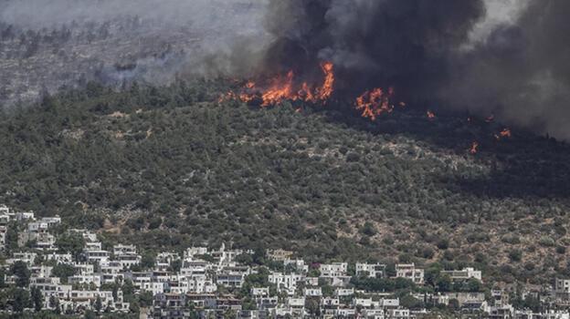 Son dakika... Bodrum'daki orman yangını kontrol altına alındı