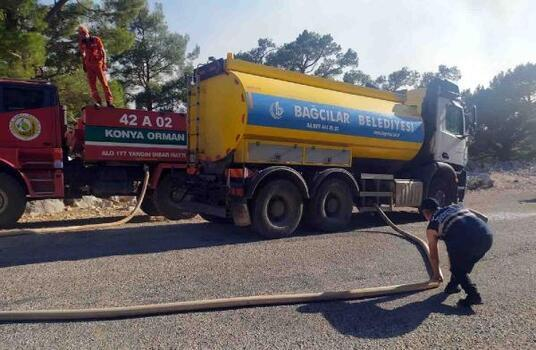 Bağcılar Belediyesi'nden orman yangını için yardım seferberliği