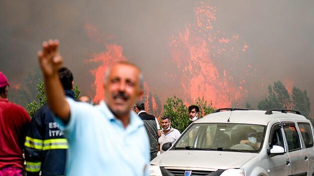 Manavgat'taki büyük yangın 5'inci gününde! Alevler 20 metreyi buldu