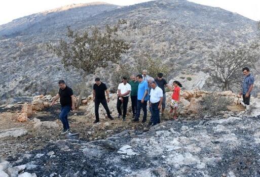 Yenişehir Belediyesi tüm imkanlarıyla yangın bölgesinde