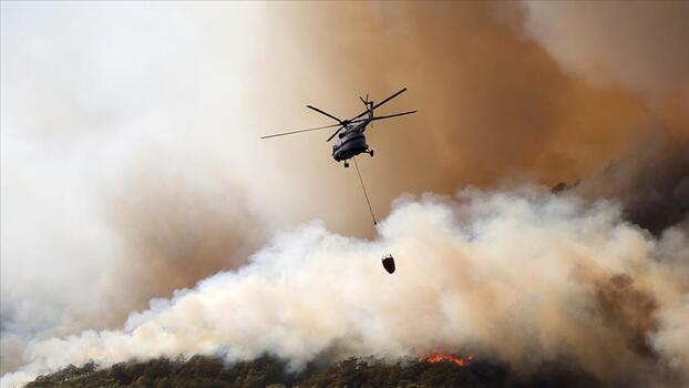 Yangın bölgelerine 21 milyon liralık destek