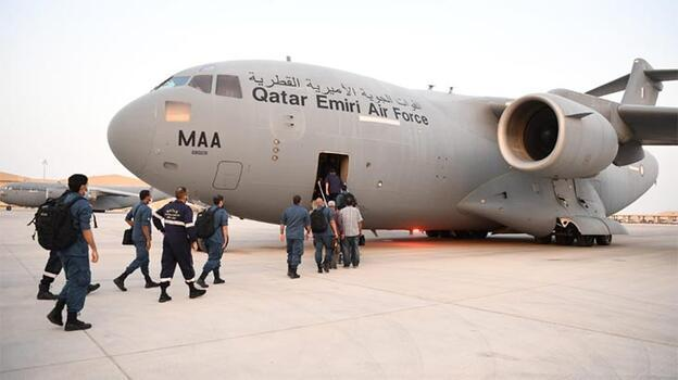 Katar'dan Türkiye'ye arama kurtarma desteği