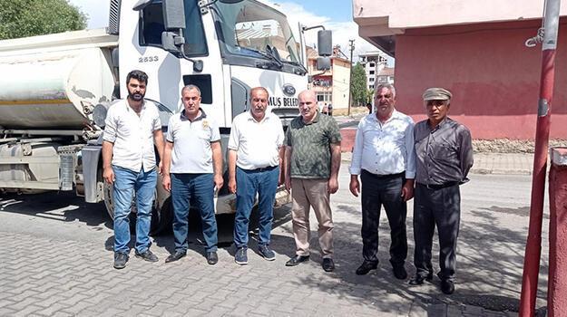 Muş Belediyesi'nden Antalya'daki yangına destek