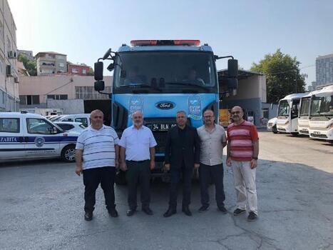 Eyüpsultan Belediyesi'nden Antalya'ya ekip ve su tankeri desteği