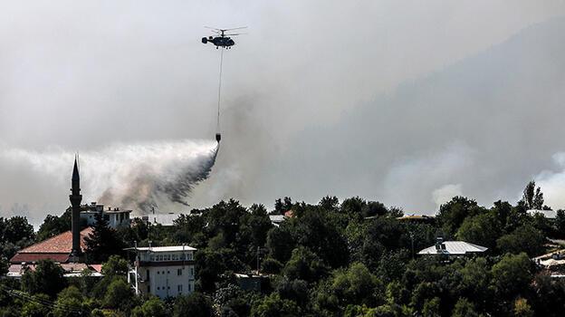 Manavgat'taki büyük yangın 6. gününde! Bir mahalle tamamen yandı
