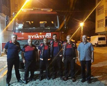 Niksar'dan Manavgat'taki yangın söndürme çalışmalarına destek
