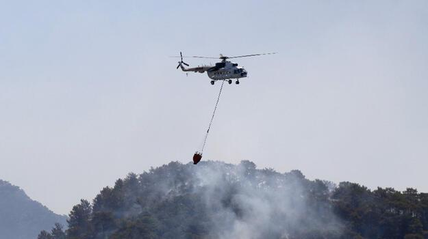 Son dakika... Muğla'da bir yangın daha! Söndürme çalışmaları sürüyor
