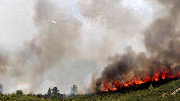 Son dakika... Isparta'da yangın yerleşim yerlerine ulaştı! Mahalle tahliye edildi