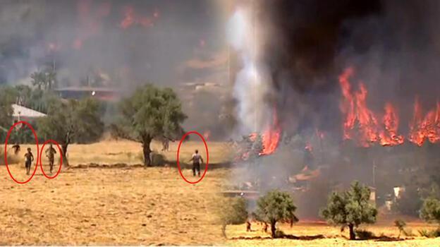 Son dakika haberi... Yangın kabusu 6. gününde! Gündoğmuş'ta yangın evlere sıçradı