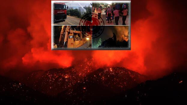 Orman yangınlarına karşı TSK'dan dev destek!