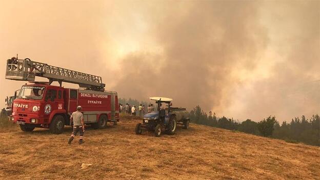 Son dakika! Denizli'deki orman yangını kontrol altına alındı