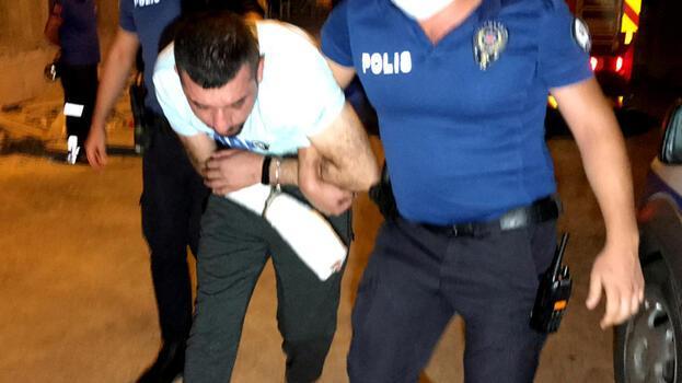 Adana'da karısını ve çocuklarını darp eden şüpheli yakalandı
