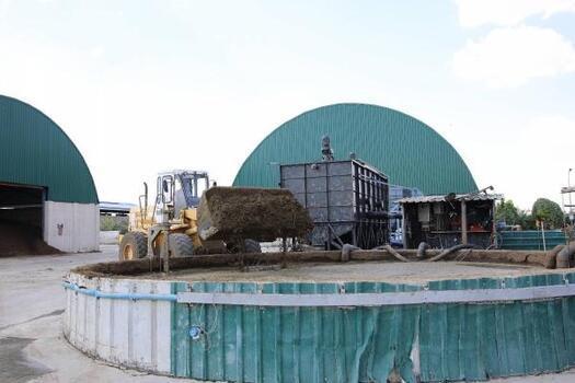 Gaziantep'teki Biyogaz Tesisi'nde 4 bin haneye elektrik sağlanıyor