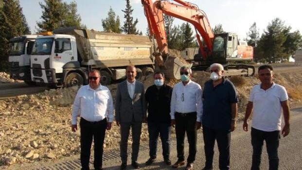 Kilis-Akbez karayolunun yapımına başlandı