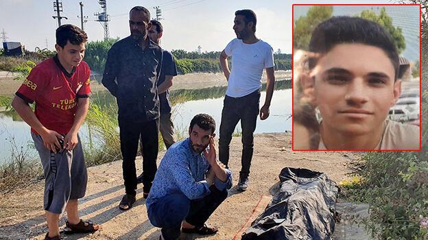 Sulama kanalında kaybolan Suriyeli gencin cesedi bulundu