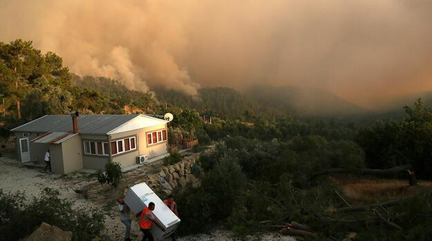 Son dakika... Manavgat'taki büyük yangın 7'nci gününde!