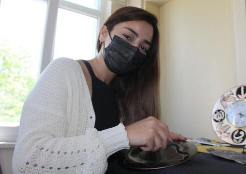 Sivas'ta bakır işlemeciliğine 'kadın' ilgisi