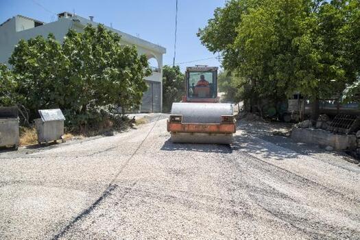 Fıstık, zeytin ve incir yetiştiricileri için önem taşıyan grup yolu yenilendi