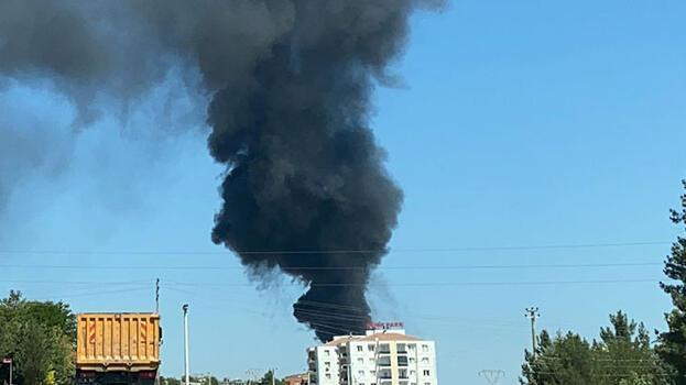 Kara dumanlar kenti kapladı! Panik yarattı