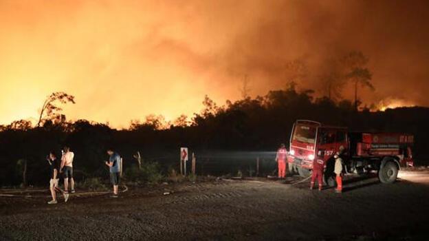 4 ilde yangınlara 2 bin 310 personelle müdahale