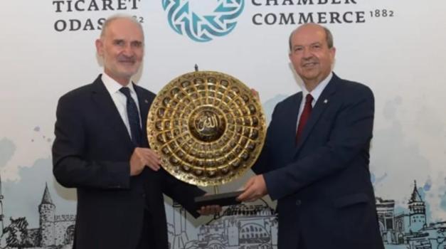 KKTC Cumhurbaşkanı Ersin Tatar, İTO'yu ziyaret etti