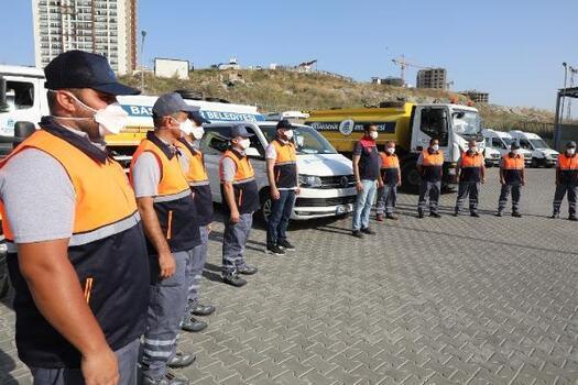 BAŞAKAY ekipleri yangınla mücadeleye destek için Antalya'ya gidiyor