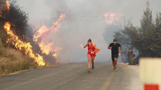 Milas ve Bodrum'daki orman yangınlarına son durum!