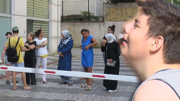 İstanbul'da yangın paniği! Gözyaşlarına boğuldu