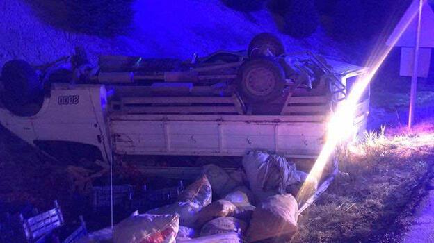 Uşak'ta trafik kazası: 6 yaralı