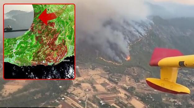 Son dakika... İspanyol pilotlardan Türkiye paylaşımı! Havadan ilk görüntüler