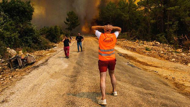 Son dakika... Yangın bölgesindeki sivillere önemli uyarı! 'Güvenli değil...'