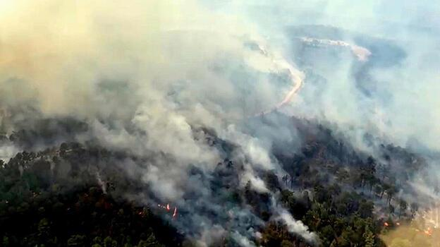 Muğla Kavaklıdere'deki yangında 3. gün!