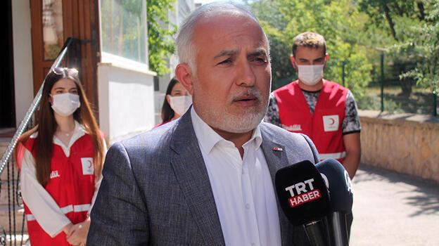Türk Kızılay Genel Başkanı Kınık: 'Son kıvılcım sönene kadar bütün Kızılaycılar sahada'