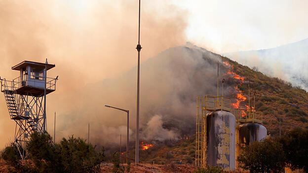 Son Dakika Haberleri: Yangın termik santrale yaklaştı! İşçiler tahliye edildi