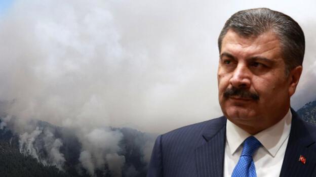 Bakan Koca'dan Antalya ve Muğla yangınlarına ilişkin son dakika açıklaması