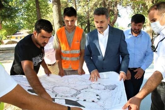 Başkan Eroğlu: Çalışmalara hız kesmeden devam ediyoruz