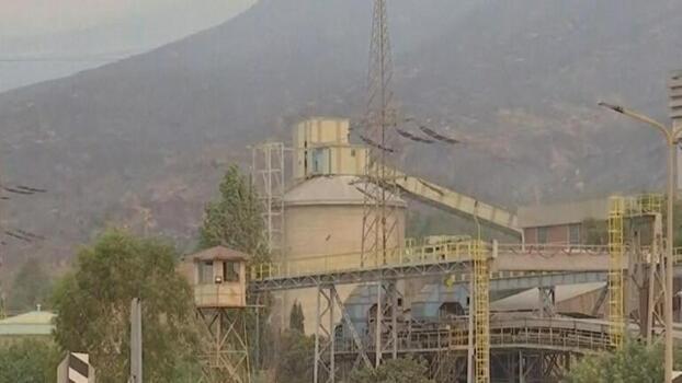 Milas'ta termik santral bölgesindeki alevler etkisini kaybetti
