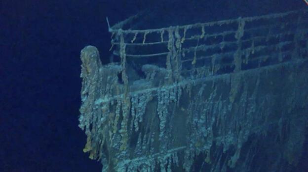 Yeni görüntüler kanıtladı: Titanik enkazı hızla bozuluyor!
