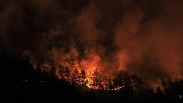 9. gün: Antalya'da yangın 5 ilçede sürüyor