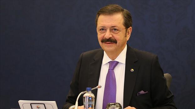 TOBB Başkanı Hisarcıklıoğlu'ndan fidan bağışı açıklaması