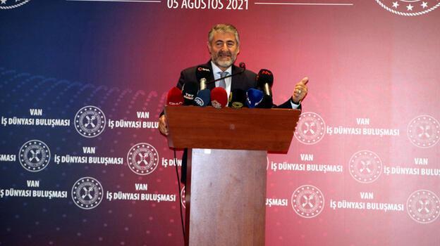 Nureddin Nebati'den enflasyon açıklaması