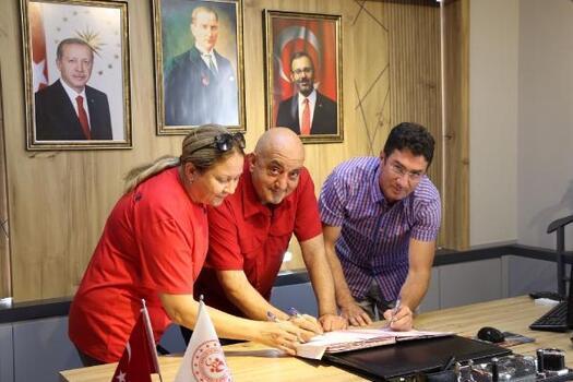 Şehir stadyumu için imzalar atıldı