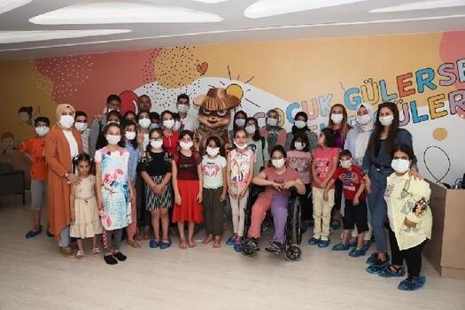 Mardin'de özel gereksinimli çocuklar spor aktiviteleriyle gönüllerince eğlendi
