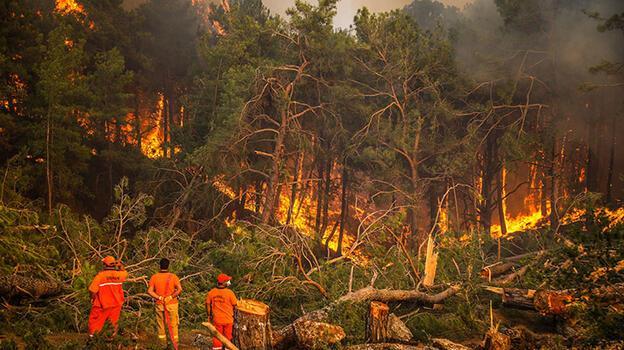 KKTC'de Türkiye'deki yangınla mücadeleye destek kampanyası