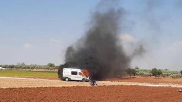 Fırat Kalkanı bölgesinde PKK/YPG sivilleri hedef aldı: 2 ölü, 2 yaralı