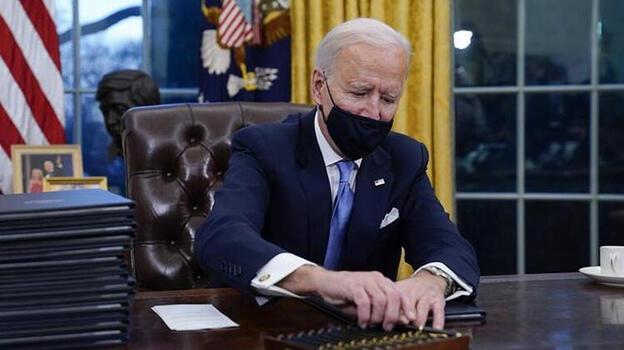 Son dakika: Biden 'Çin'i anımsatıp imzayı attı! 2030 yılına kadar...