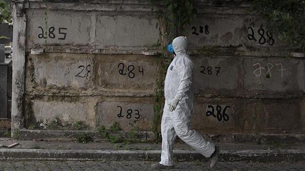 Brezilya'da koronavirüsten ölenlerin sayısı 560 bini aştı